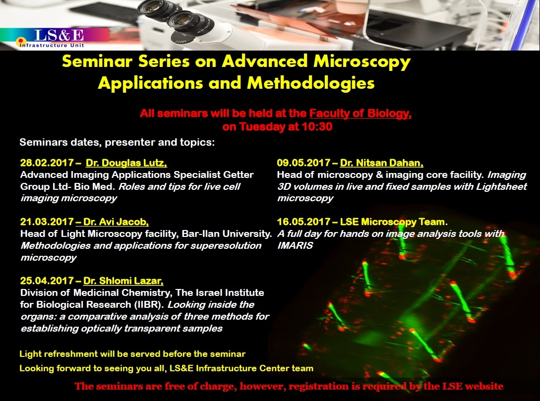 Microscopy seminar series
